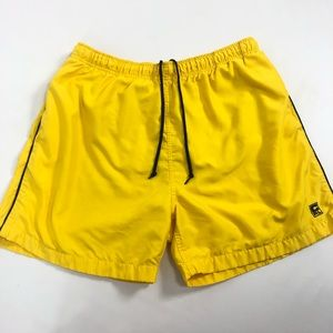 Chaps Ralph Lauren yellow swim trunks size L